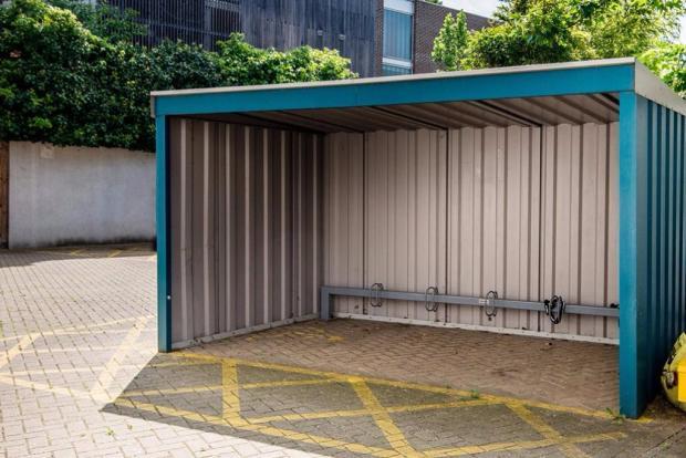 Secure bike storage