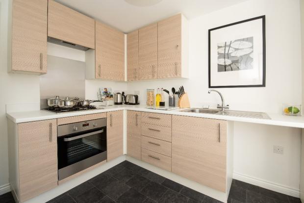 Show Home Kitchen