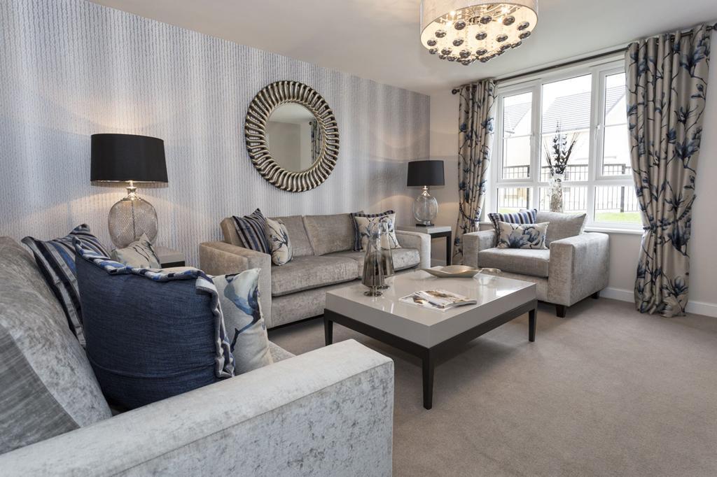 Craigievar Living Room