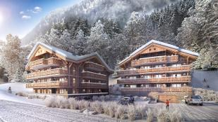 2 bed new Apartment in Montriond, Haute-Savoie...