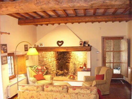 Chianti stone house