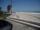 local Caulonia beach
