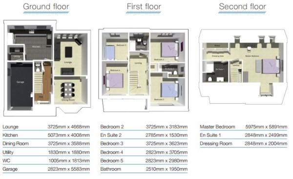 Budworth Floor Plans