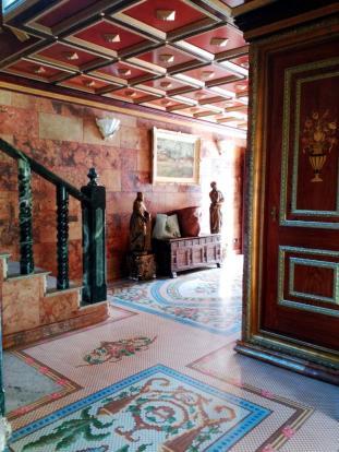 Decorated floor