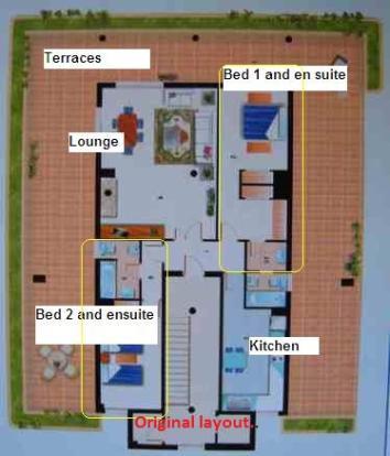 Cabopino penthouse a