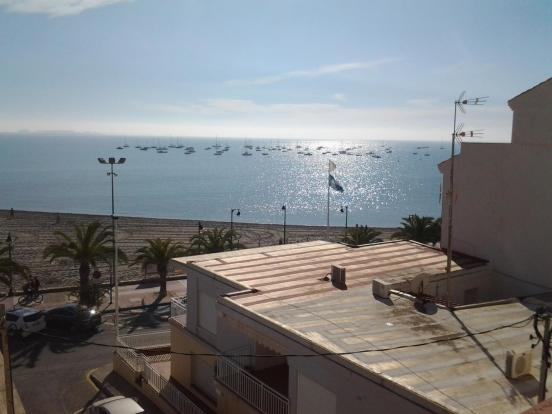 Apartment with sea views over Lo Pagan