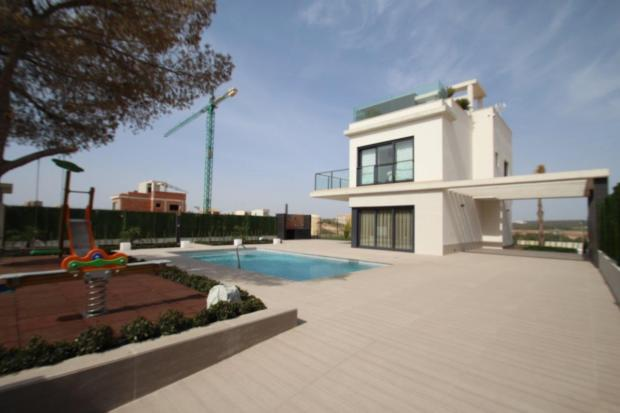 Campoamor Luxury Villa with sea views