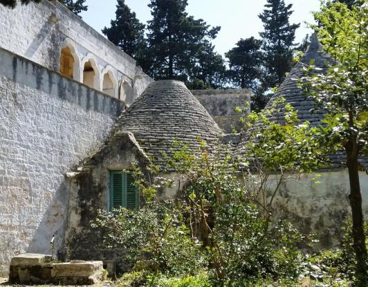 Back of house,trullo