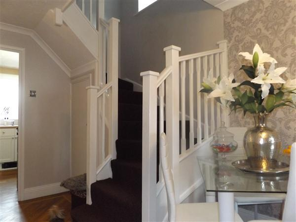 Stairs in Dining