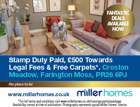 Get brand editions for Miller Homes North West, Croston Meadow