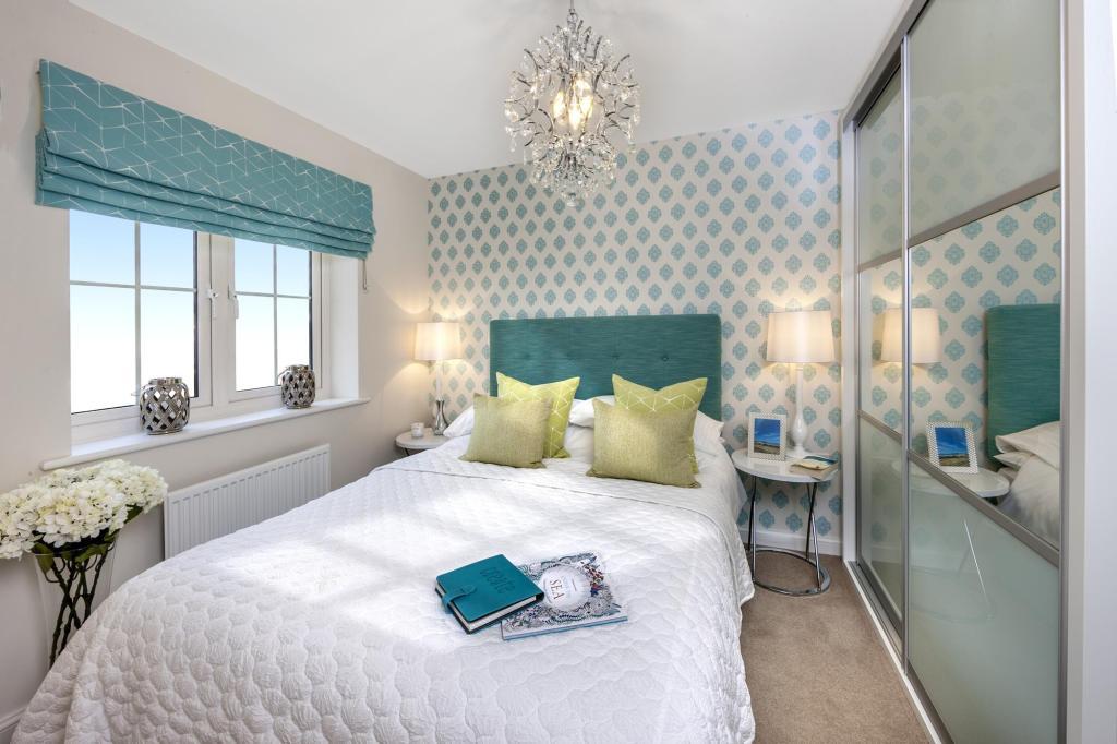 The Barwick bedroom 2 at Bishop Park, Henfield