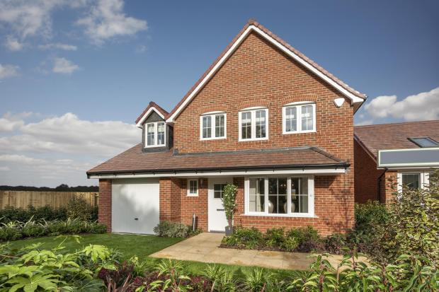 The Harborough show home at Bishop Park, Henfield