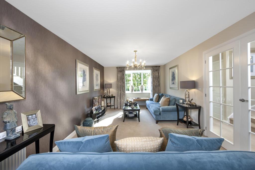 The Harborough livingroom at Bishop Park, Henfield