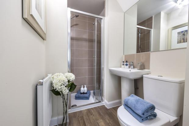 The Harborough en suite at Bishop Park, Henfield