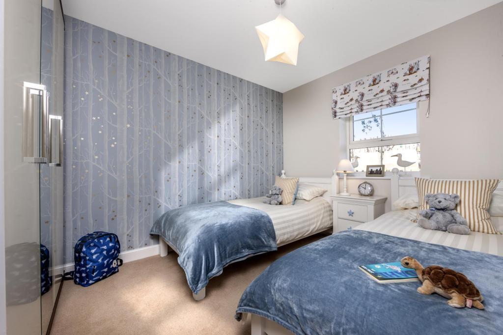 The Harborough bedroom 5 at Bishop Park, Henfield