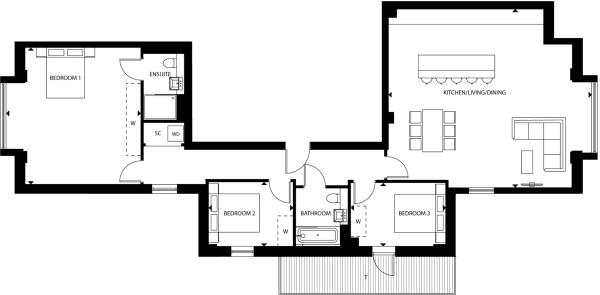 Floorplan A44