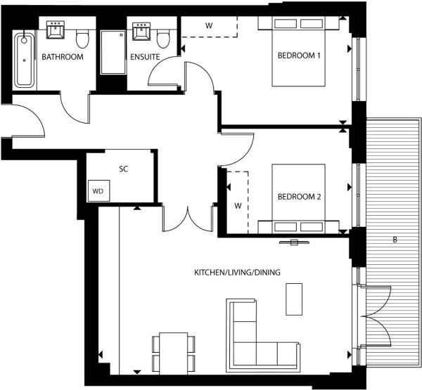 Floorplan B70