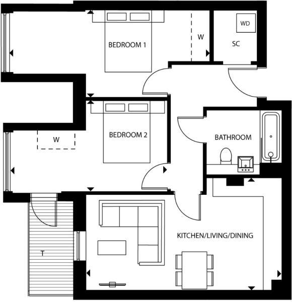 Floorplan B83