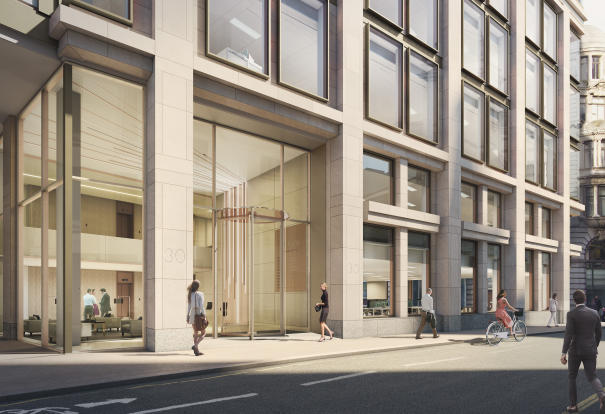 Office to rent in aurum 30 lombard street london ec3v for Lombard place