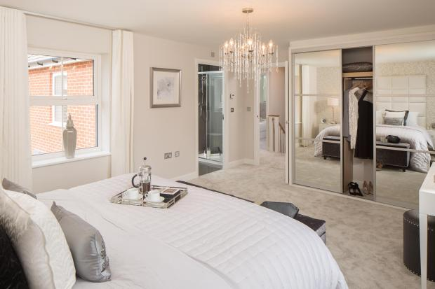Master with en suite view