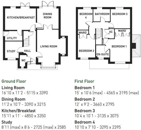 Rydal floorplan