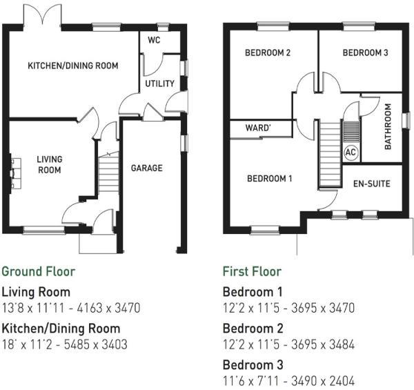 Earlsdale floorplan