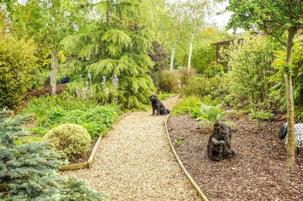 Ugg 258 rear garden.