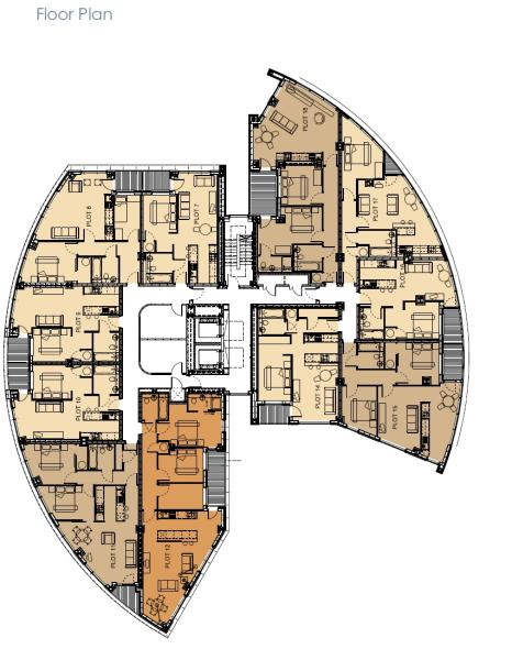 Floor Plan Section