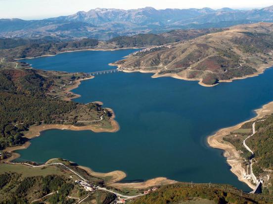 Lake Campotosto