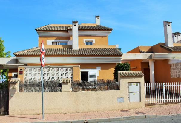 Villa from street