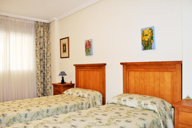One of bedrooms
