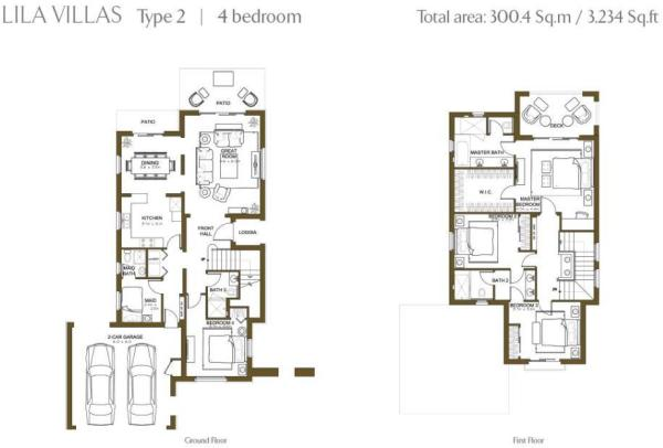 Developer Floor Plans