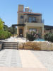 Front view of villa
