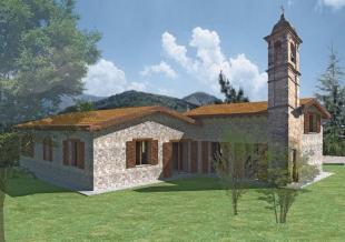 Detached Villa for sale in Bardi, Parma...