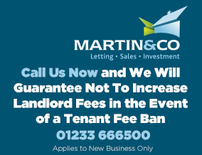 Get brand editions for Martin & Co, Ashford Lettings