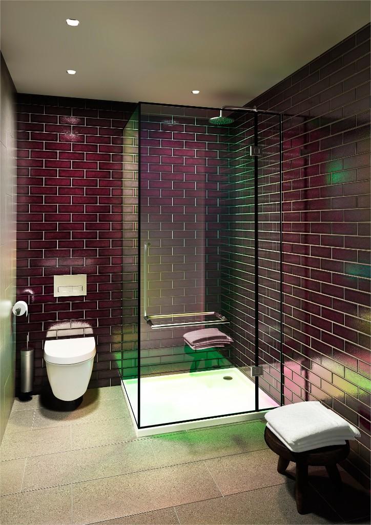 Greenwich Peninsula,Bathroom detail