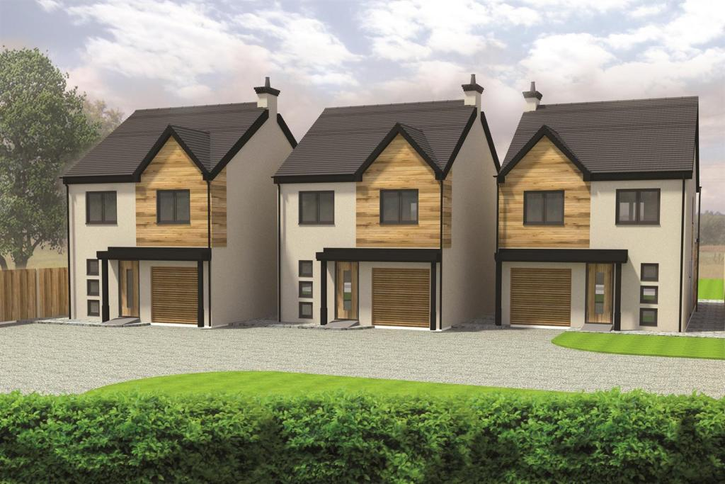bedroom detached house for sale in three bespoke new build homes