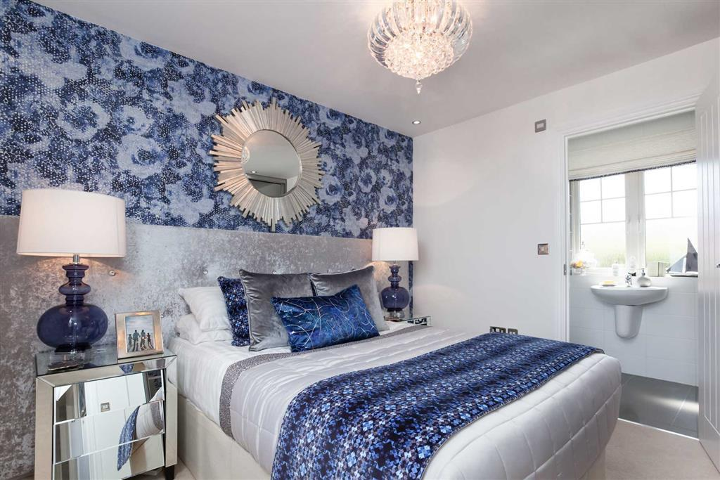 Image depcits a typical Taylor Wimpey property