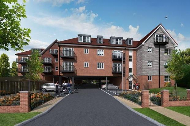 2 bedroom apartment for sale in crowthorne road bracknell