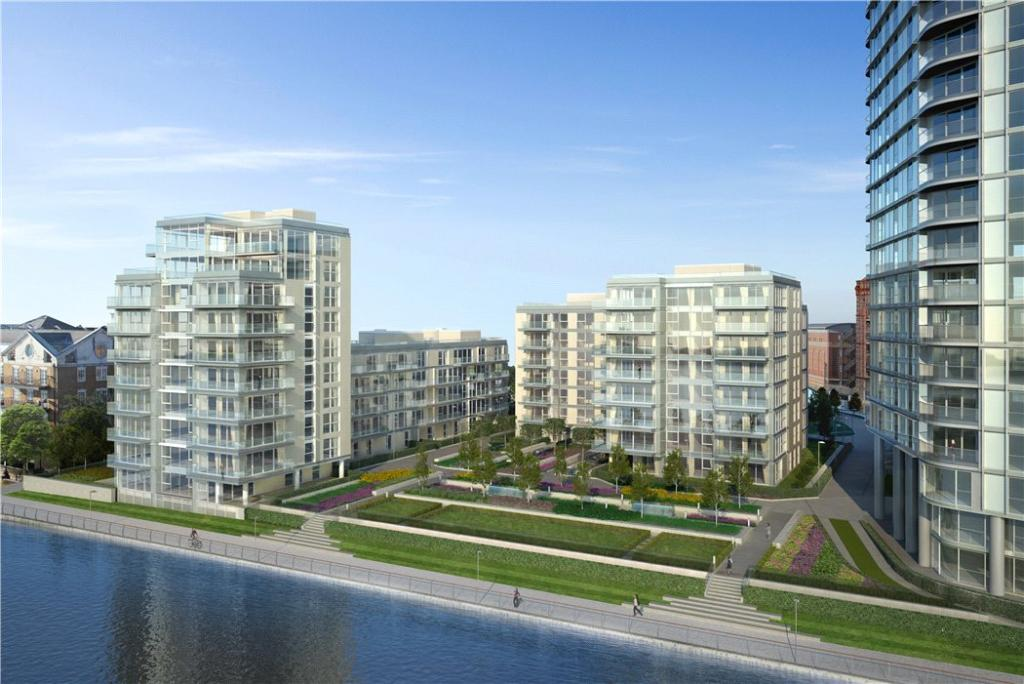 Chelsea Waterfront,Front Elevation