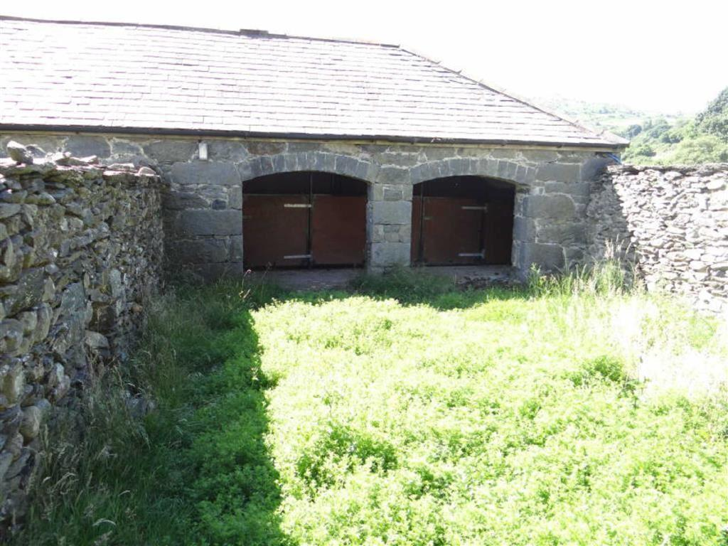 The outbuildings the