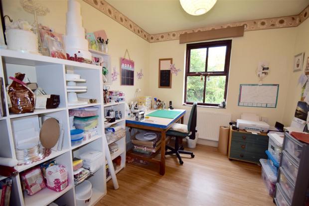 Bedroom one/study