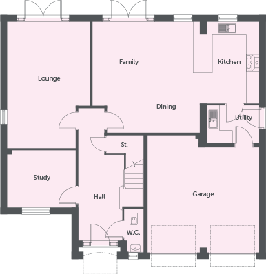 Ground florr layout