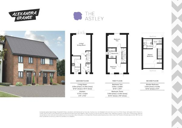 The Astley floorplan