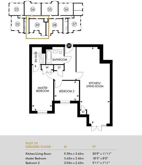 Chambord House, Ground Floor, Ground Floor Apartment
