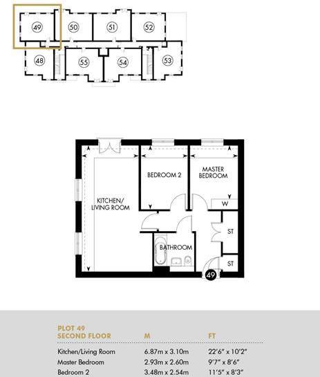 Chambord House, Second Floor, Second Floor Apartment