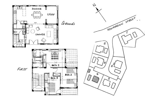 Villa No4 Floor Plan