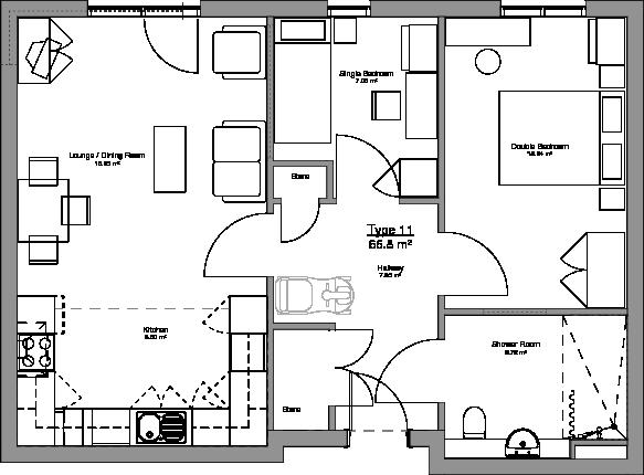 Type 11 Floor Plan