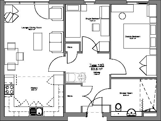 Type 10G Floor Plan