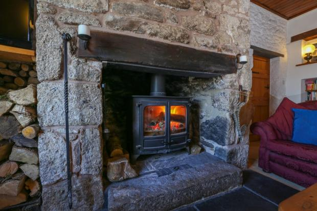 Living Room Firep...